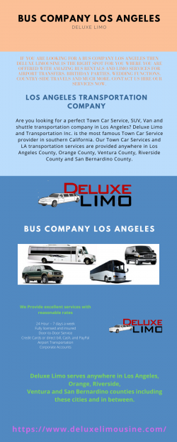 Bus Company Los Angeles