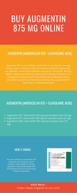 Buy Augmentin 875 Mg Online