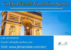 Certified French Translation Agency