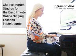 Choose Ingram Studios for the Best Private Online Singing Lessons in Melbourne