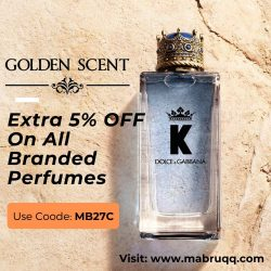 Golden Scent Discount Code: 30% Off Coupons & Offers
