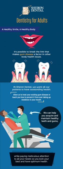 Get a Healthy Smile with Adult Dentistry Services from Sheron Dental