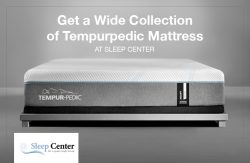 Get a Wide Collection of Tempurpedic Mattress at Sleep Center