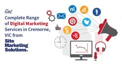 Get Complete Range of Digital Marketing Services in Cremorne, VIC from Site Marketing Solutions