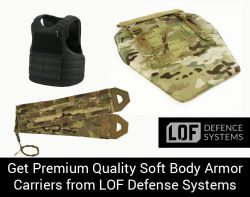 Get Premium Quality Soft Body Armor Carriers from LOF Defense Systems