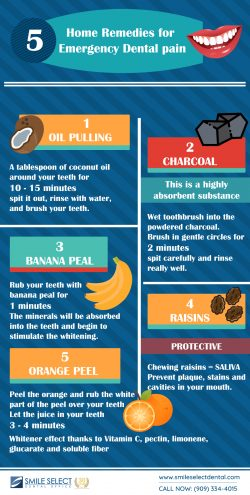 Home Remedies for Emergency Dental Pain