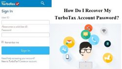 How Do I Recover My TurboTax Account Password?