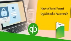 How to Reset Forget QuickBooks Password?