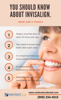 5 Things you Should Know About Invisalign