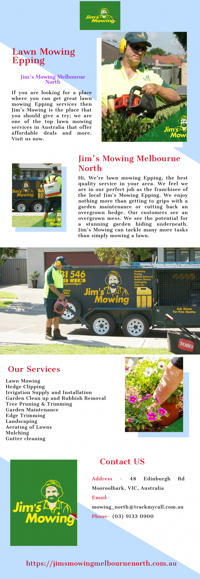 Looking for Best Lawn Mowing Epping Services | Jim's Mowing Melbourne North