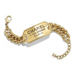 Metal Gold Bracelet | CHANEL