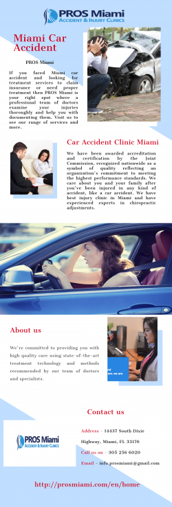 Looking for Miami Car Accident | PROS Miami