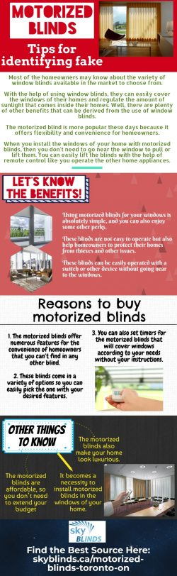 Where can I Find the Best motorized blinds