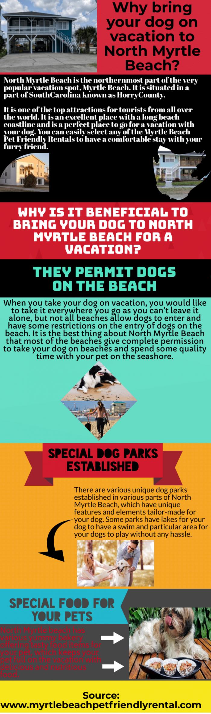 Adventurous activities and pet friendly vacation rentals in Myrtle Beach