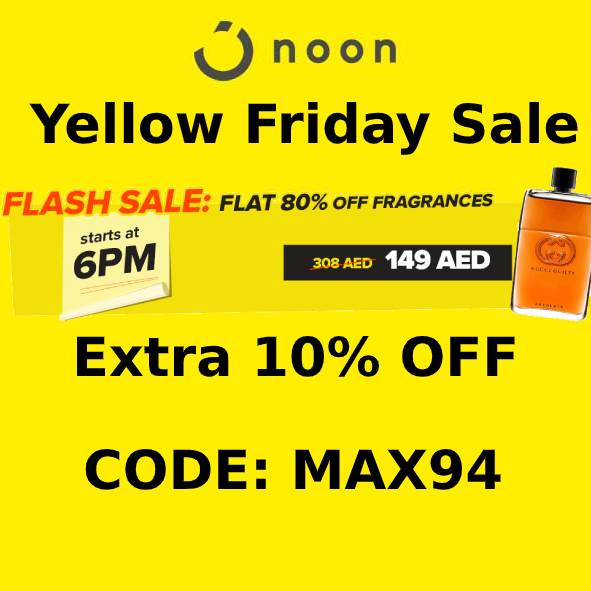 Noon Coupon Code: Extra 10% Off on Everything