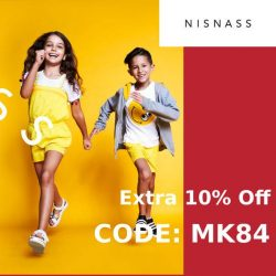 Nisnass Coupon Codes for extra 10% Off on everything