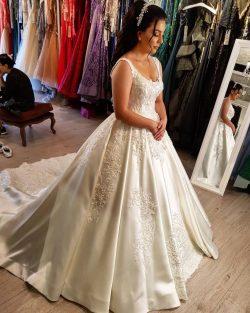 Elegante Brautkleider Prinzessin | Hochzeitskleider Günstig Online