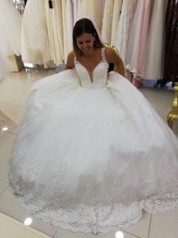 Günstig Brautkleider Prinzessin | Hochzeitskleider mit Spitze Online