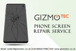Phone Screen Repair Service at Gizmotec Ltd