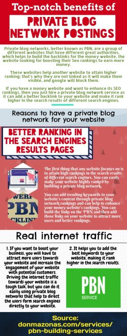 Top-notch advantages that can be achieved by you from the private blog networks