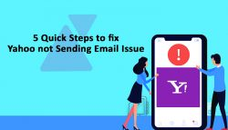 5 Quick Steps to fix Yahoo not Sending Email Issue