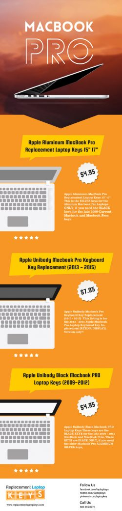Shop 100% Original MacBook Pro Keyboard Keys from Replacement Laptop Keys
