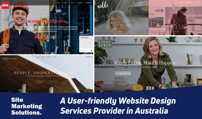Site Marketing Solutions – A User-friendly Website Design Services Provider in Australia
