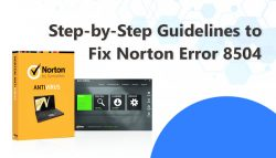 Step-by-Step Guidelines to Fix Norton Error 8504