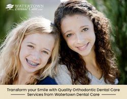 Transform your Smile with Quality Orthodontic Dental Care Services from Watertown Dental Care