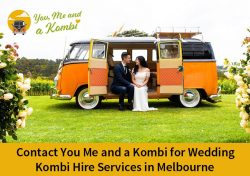 Contact You Me and a Kombi for Wedding Kombi Hire Services in Melbourne