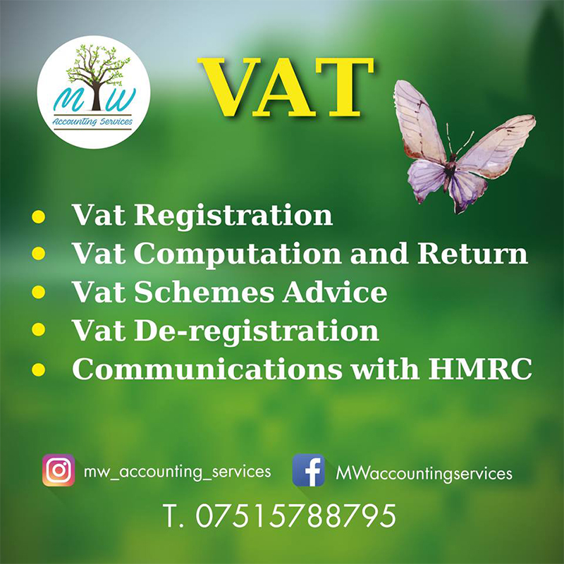 Vat registration services bracknell | MW Accounting Services