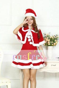クリスマス コス衣服 可愛い 仮装