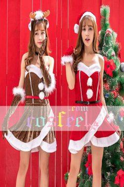 クリスマス トナカイ サンタ コスプレ衣装