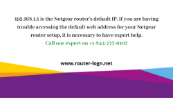 192.168.1.1 Login | Netgear Router Default IP Setup