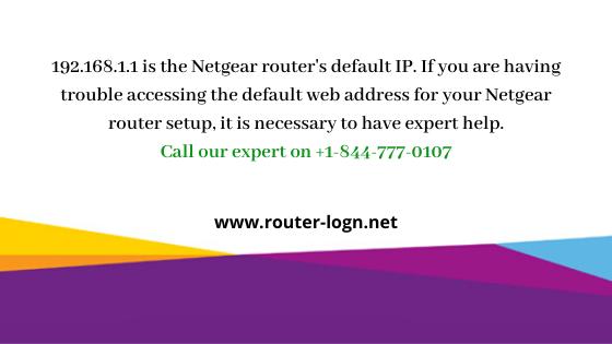 192.168.1.1 Login   Netgear Router Default IP Setup