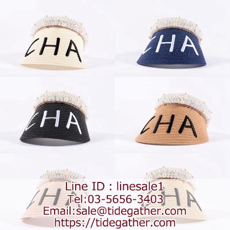chanel straw hat