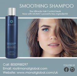 SMOOTHING SHAMPOO AT MONAT Global UK