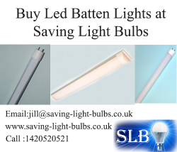 Buy Led Batten Lights at Saving Light Bulbs