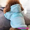 シュプリーム 犬服 ペットウェア Supremeボックスロゴ 刺しゅう ドッグウェア 冬用 防寒 お散歩