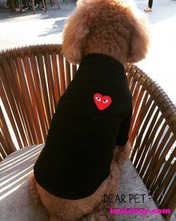 コムデギャルソン 犬服 PLAY COMME des GARCONS ドッグウェア カバーオール 可愛い お散歩