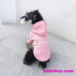 チャンピオン ドッグウェア パーカー Champion ペットウェア カバーオール CHAMPION 犬服 防寒 厚手 裏 ...