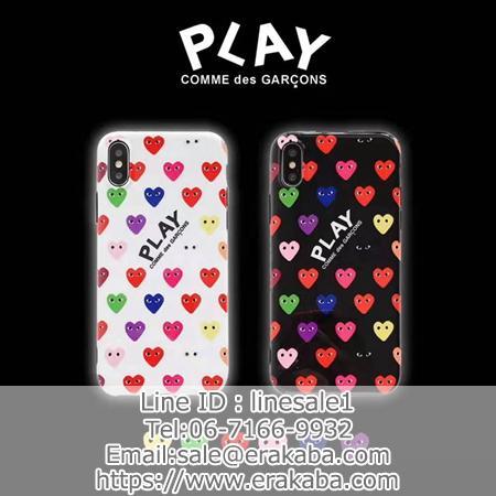 コムデギャルソン iPhoneイレブン/11ケース Comme des Garçons IPHONEXR/XS MAXカバー 可愛い