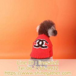 CHANEL 新作 犬 セーター