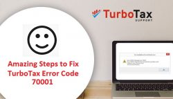 How can I deal with TurboTax Error code 70001?