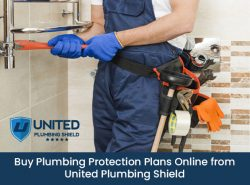 Buy Plumbing Protection Plans Online from United Plumbing Shield