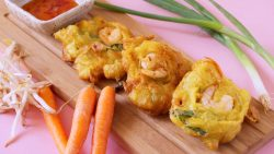 Cucur Udang Mamak (Prawn Fritters) · Southeast Asian Recipes · Nyonya Cooking