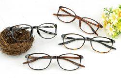 似合う眼鏡 べっ甲メガネ韓国正規品tr90安いメガネ軽量度付