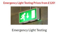 Emergency Light Testing UK