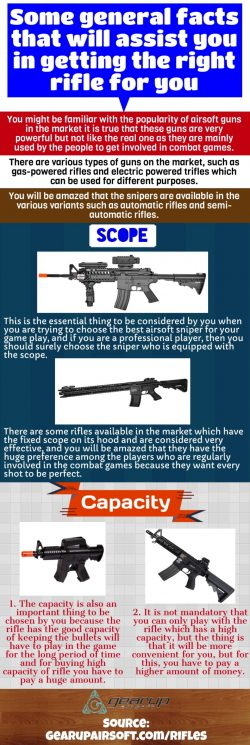 Sniper rifle with a best single shot mechanism