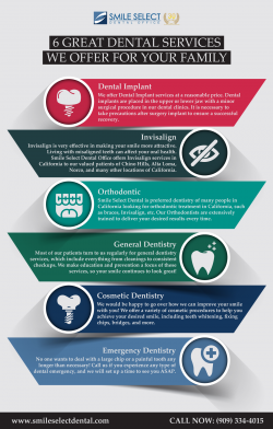 6 Great Dental Services Offer by Smile Select Dental